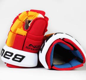 """14"""" Bauer Nexus 2N Gloves - Erik Gustafsson Calgary Flames #2"""