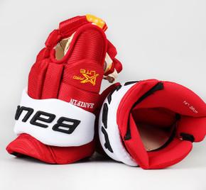 """14"""" Bauer Vapor 1X Lite Pro Gloves - Noah Hanifin Calgary Flames #2"""