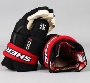 """14"""" Sher-Wood Code V Gloves - Nikita Zaitsev Ottawa Senators"""