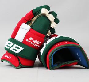 """14"""" Bauer Nexus 2N Gloves - John Hayden New Jersey Devils"""