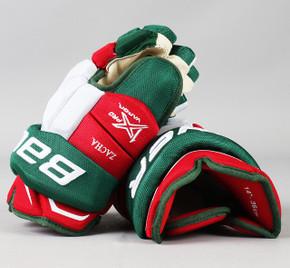 "14"" Bauer Vapor 1X Pro Gloves - Pavel Zacha New Jersey Devils #3"