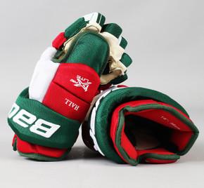 "14"" Bauer Vapor 1X Lite Pro Gloves - Taylor Hall New Jersey Devils"