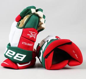 """14"""" Bauer Vapor 1X Pro Gloves - John Quenville New Jersey Devils"""
