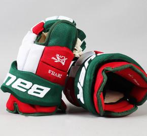 """14"""" Bauer Vapor 1X Lite Pro Gloves - Team Stock New Jersey Devils"""