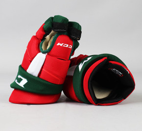 "13"" CCM HGQLXP Gloves - Team Stock New Jersey Devils"