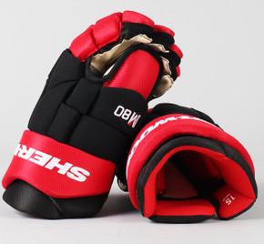 """15"""" Sher-Wood Rekker Red M80 Gloves - Team Stock"""