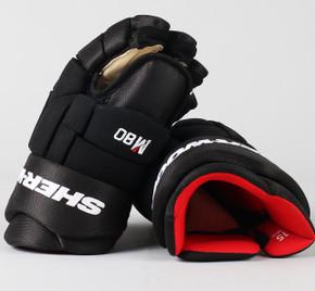 """15"""" Sher-Wood Black Rekker M80 Gloves - Team Stock"""
