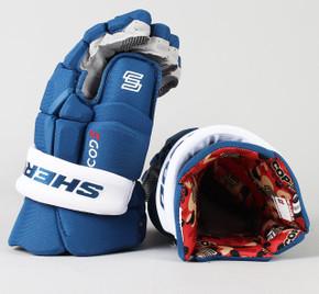 """15"""" Sher-Wood Code V Gloves - Mikko Rantanen Colorado Avalanche"""