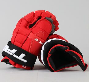 "14"" TRUE XC9 Gloves - Egor Yakovlev New Jersey Devils"