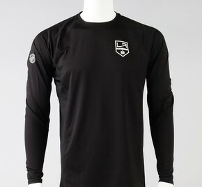 LA Kings X-Large Authentic Pro Long Sleeve Shirt