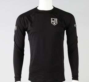 Los Angeles Kings Large Authentic Pro Long Sleeve Compression Shirt