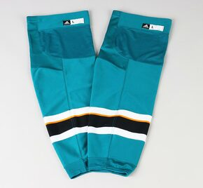 Game Sock - San Jose Sharks - Teal Adidas Size L