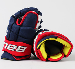"""13"""" Bauer Supreme 1S Gloves - Pierre-Luc Dubois Columbus Blue Jackets"""