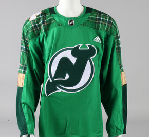 Game Jersey - New Jersey Devils - Green Adidas Size 56