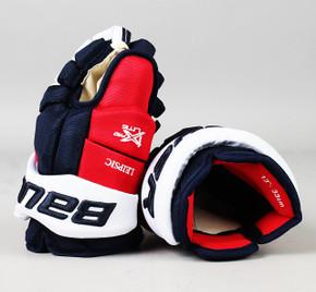 "13"" Bauer Vapor 1X Pro Lite Gloves - Brendan Leipsic Washington Capitals"