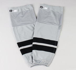 Game Sock - Los Angeles Kings - Gray Adidas Size XL+