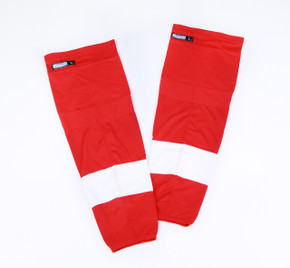 Game Sock - Detroit Red Wings - Red Reebok Size XL+