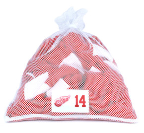 Detroit Red Wings White Laundry Bag - Gustav Nyquist