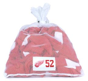 Detroit Red Wings White Laundry Bag - Jonathan Ericsson