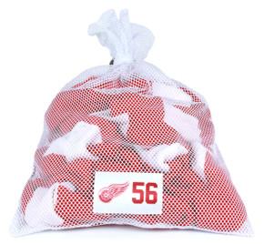 Detroit Red Wings White Laundry Bag - Teemu Pulkkinen