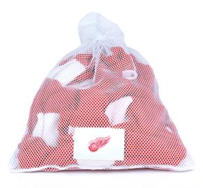 Detroit Red Wings White Laundry Bag - Team Stock