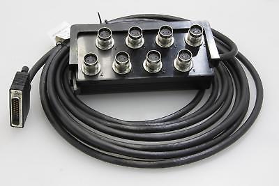 IBM TWINAX 8-PORT 25 PIN 6 0M CABLE