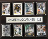 "MLB 12""x15"" Andrew McCutchen Pittsburgh Pirates 8-Card Plaque"