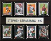 "MLB 12""x15"" Stephen Strasburg Washington Nationals 8-Card Plaque"