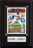 "MLB 4""x6"" Adam Jones Baltimore Orioles Player Plaque"
