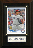 "MLB 4""x6"" Yu Darvish Texas Rangers Player Plaque"