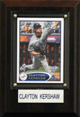 "MLB 4""x6"" Clayton Kershaw Los Angeles Dodgers Player Plaque"