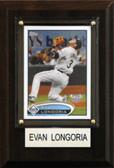 "MLB 4""x6"" Evan Longoria Tampa Bay Rays Player Plaque"