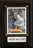 "MLB 4""x6"" Andrew McCutchen Pittsburgh Pirates Player Plaque"