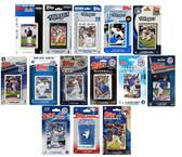 MLB Toronto Blue Jays 14 Different Licensed Trading Card Team Sets