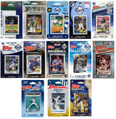 MLB Tampa Bay Rays 13 Different Licensed Trading Card Team Sets