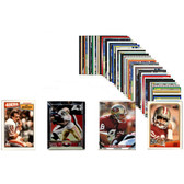 NFL San Francisco 49ers 50 Card Packs