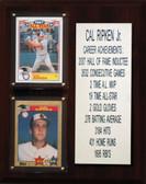 "MLB8""X10""Cal Ripken Jr. Baltimore Orioles Player Stat Plaque"