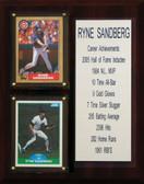 "MLB8""X10""Ryne Sandberg Chicago Cubs Career Stat Plaque"