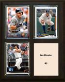 "MLB8""x10""Ian Kinsler Detroit Tigers Three Card Plaque"