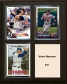 "MLB8""x10""Victor Martinez Detroit Tigers Three Card Plaque"