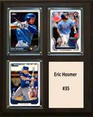 "MLB8""x10""Eric Hosmer Kansas City Royals Three Card Plaque"