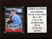 "MLB6""X8""Harmon Killebrew Minnesota Twins Career Stat Plaque"