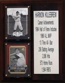 "MLB8""X10""Harmon Killebrew Minnesota Twins Career Stat Plaque"