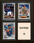"MLB8""x10""David Wright New York Mets Three Card Plaque"