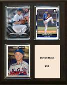 "MLB8""x10""Steven Matz New York Mets Three Card Plaque"
