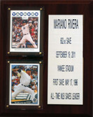 "MLB8""X10""Mariano Rivera New York Yankees Career Stat Plaque"