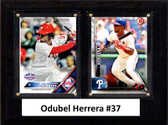 "MLB6""x8""Odubel Herrera Philadelphia Phillies Two Card Plaque"