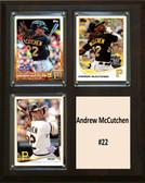 "MLB8""x10""Andrew McCutchen Pittsburgh Pirates Three Card Plaque"