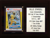 """MLB6""""X8""""Willie Stargell Pittsburgh Pirates Career Stat Plaque"""