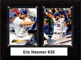 "MLB6""x8""Eric Hosmer San Diego Padres Two Card Plaque"